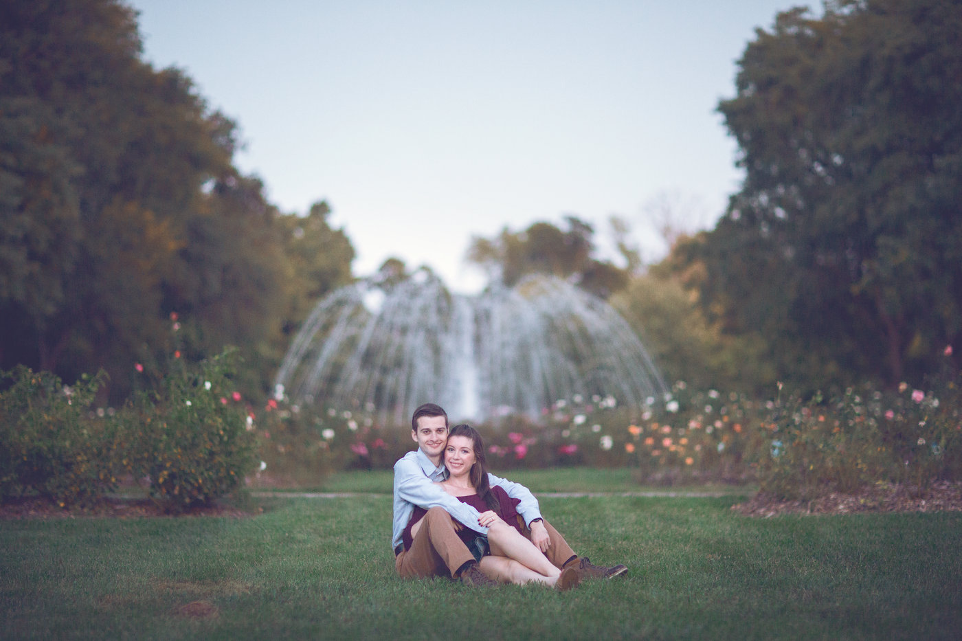 View More: http://happypixelsdesign.pass.us/casey-and-dan-engagement-park-of-roses